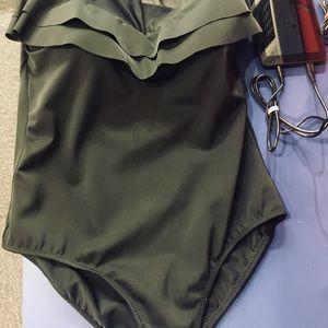 Argento Swim - High neck one piece swimsuit by Argento 👙